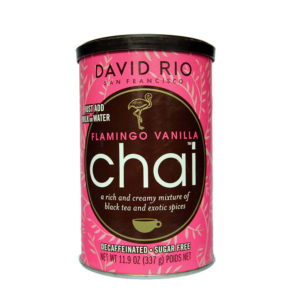 The Tea Embassy - Tee aus Hamburg - David Rio Chai - Flamingo Vanilla in der Dose - Tee