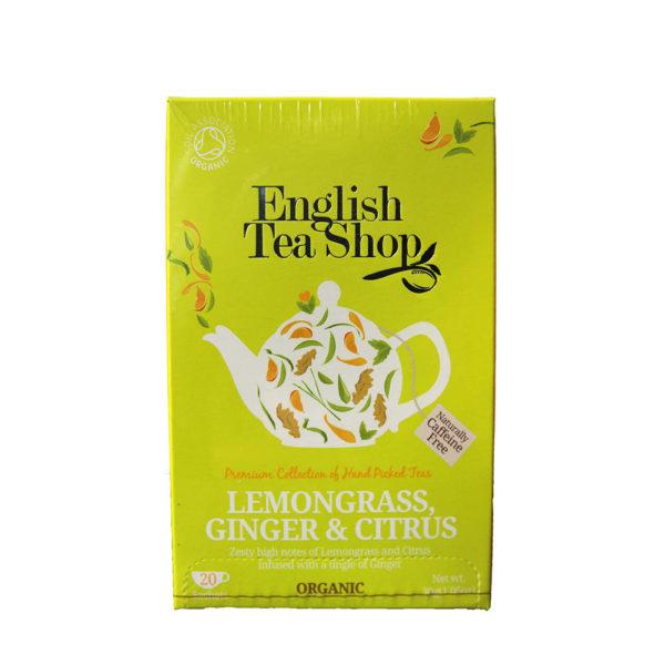 The Tea Embassy - Tee aus Hamburg - English Tea Shop - Lemongrass, Ginger & Citrus - Tee