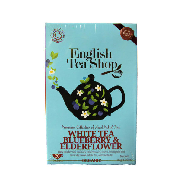 The Tea Embassy - Tee aus Hamburg - English Tea Shop - White Tea Blueberry & Elderflower - Tee