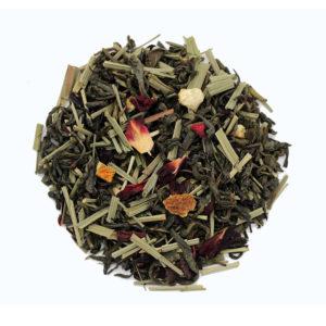 The Tea Embassy - Tee aus Hamburg - Grüner Tee - Aromatee - aromatisch - Grüner Yunnan Mochito Veda