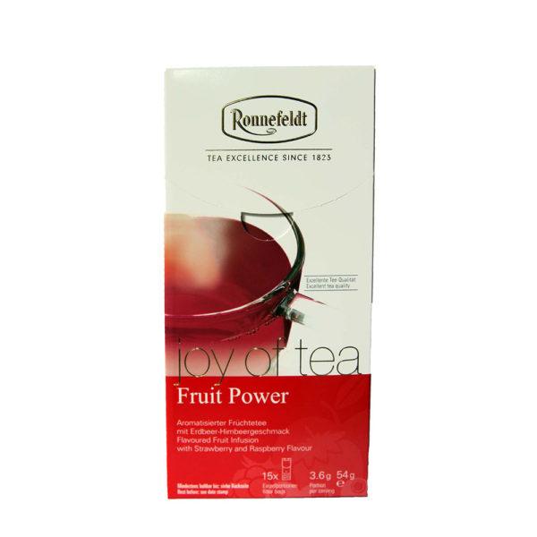 The Tea Embassy - Tee aus Hamburg - Ronnefeldt Joy of Tea - Fruit Power - Tee