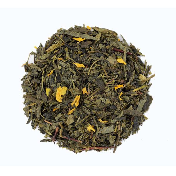 The Tea Embassy - Tee aus Hamburg - Grüner Tee - Aromatee - aromatisch - Sencha Mango
