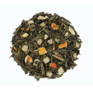 The Tea Embassy - Tee aus Hamburg - Grüner Tee - Aromatee - aromatisch - Sencha Pineapple Orange